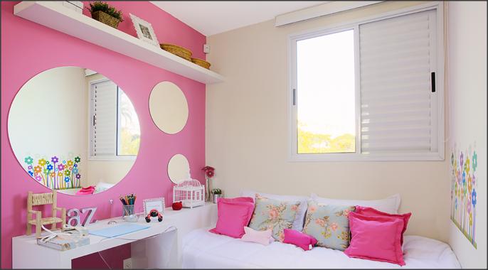 Renovar o quarto sem gastar muito É possível? RTC  ~ Quarto Rosa Para Jovem