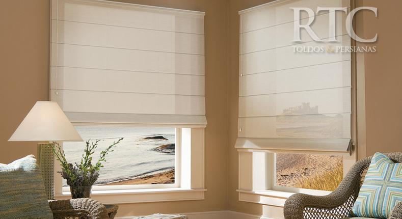 cortina tela solar romana