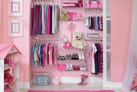 como decorar guarda roupas pequenos
