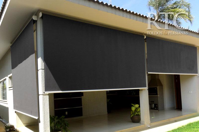 Toldo r 400 rtc toldos cortinas persianas e policarbonato for Toldo corredizo guias