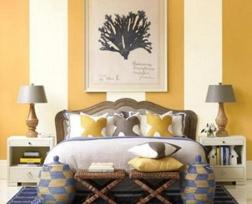 quarto decorado com listras 2