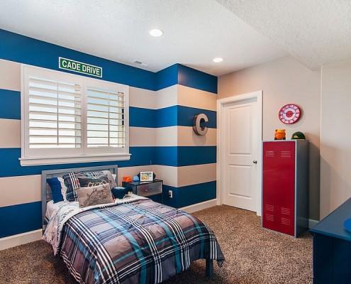 quarto decorado com listras 3