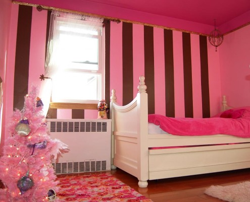 quarto decorado com listras 4
